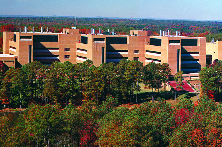 Panormaic view of the main building (Image credit: National Institutes of Environmental Health Sciences / National Institutes of Health / Department of Health and Human Services)